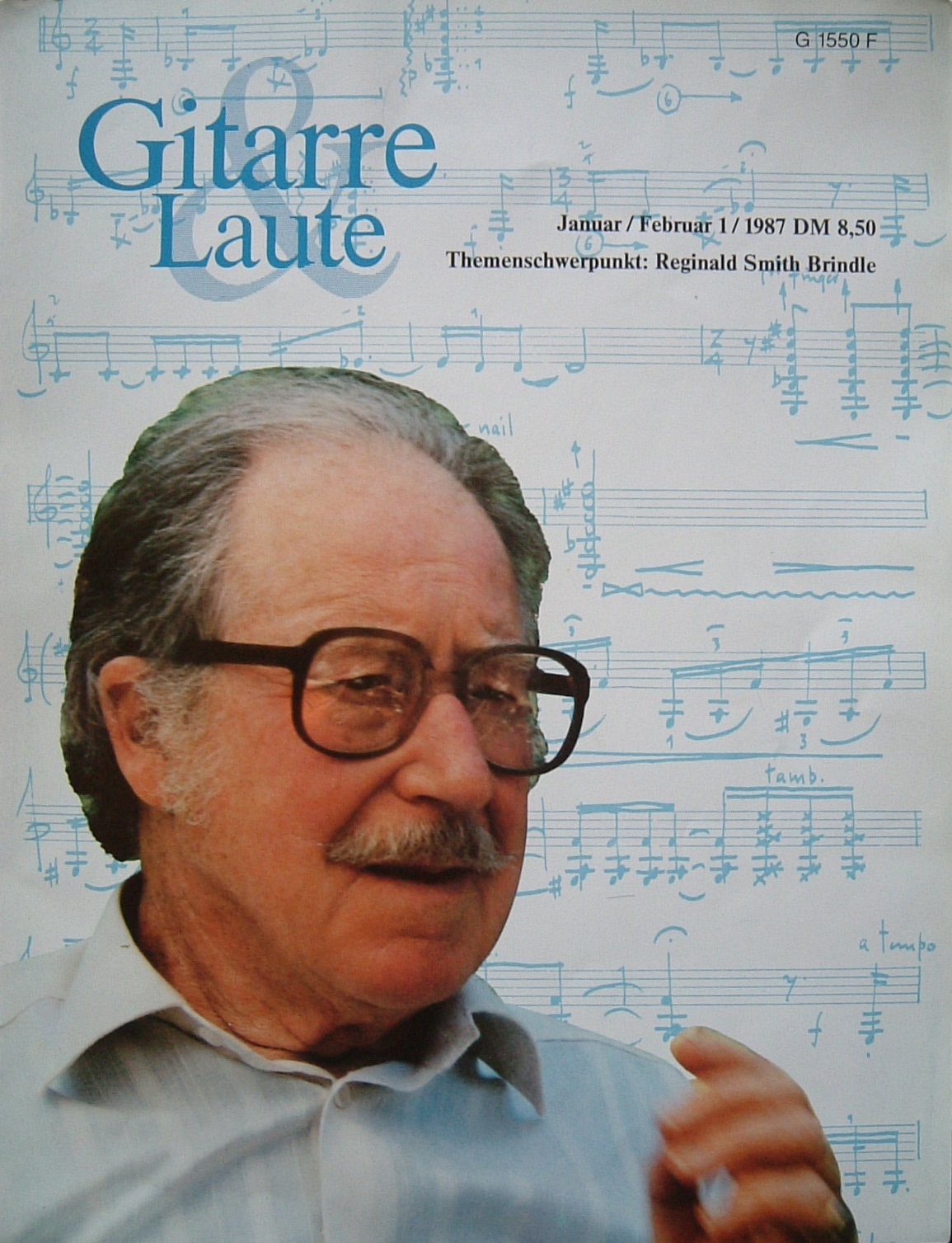 Guitarre & Laute Magazine Jan 1987